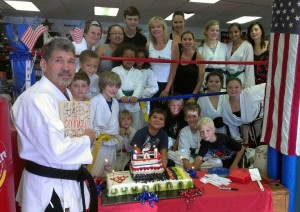 Even Mr. Roop has his birthday parties at Superkicks!